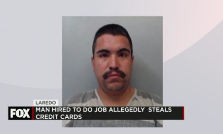 Man Hired to work, instead allegedly Steals Credit Cards