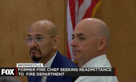 Former Fire Chief Seeks Re-Admittance to Fire Department