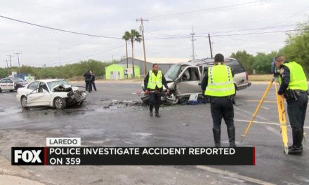 Head-On Collision in Laredo