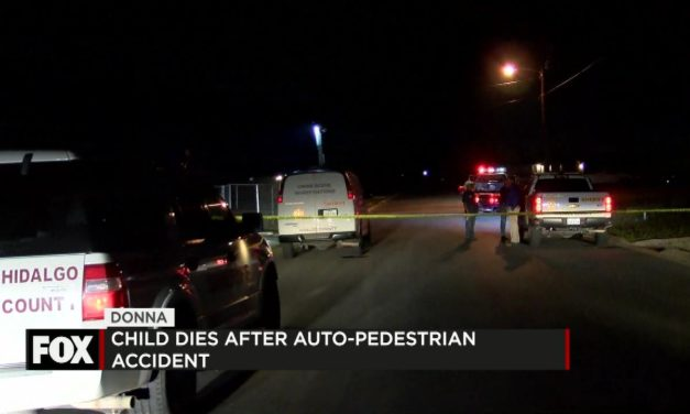 Tragic Auto-Pedestrian Accident in Donna