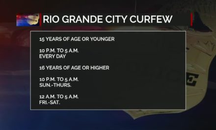 Curfew enforced in Rio Grande City