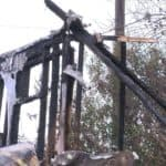 Fire leaves Mercedes Family homeless