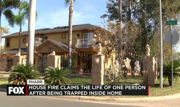 Pharr Fire Leaves One Dead