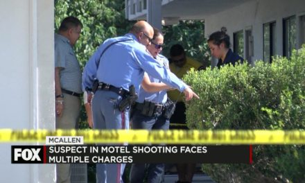 Motel Shooting Suspect Faces Multiple Charges