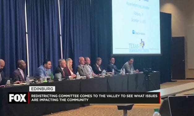 Texas Redistricting Committee Visits Edinburg