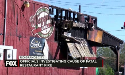 Rio Grande City Restaurant Catches Fire, One Dead