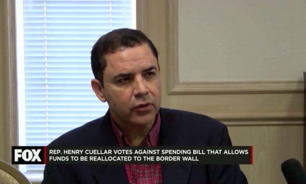 Cuellar Votes Against Spending Bill