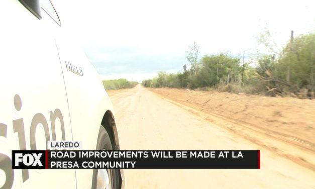 Road Improvements at La Presa Community