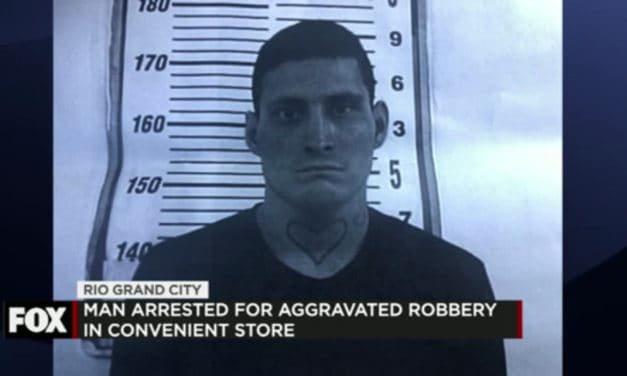 Man is under arrest for convenience store robbery