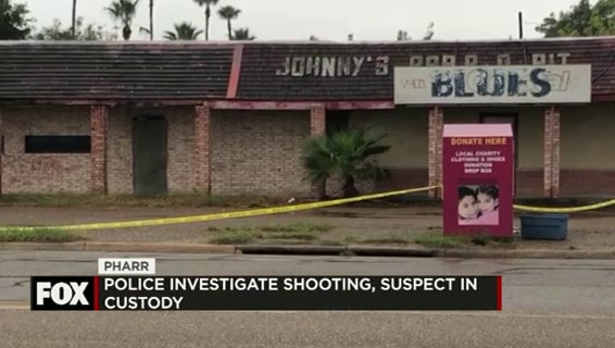 Pharr Police investigate Shooting, Suspect in Custody