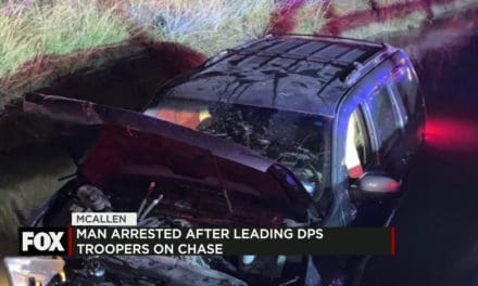 Man Arrested after DPS Chase ending in a Canal