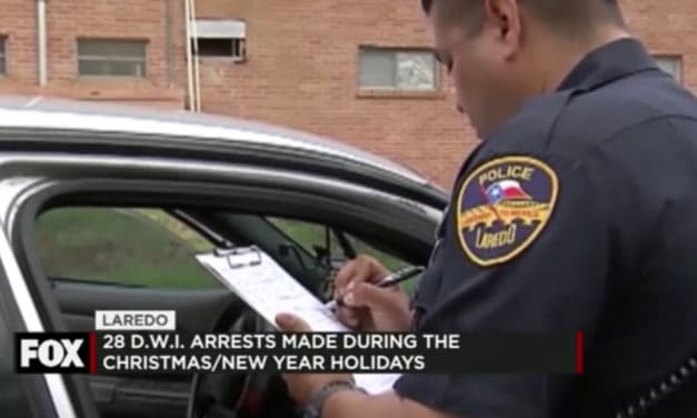 28 DWI Arrests Made During the Christmas/New Year Holiday