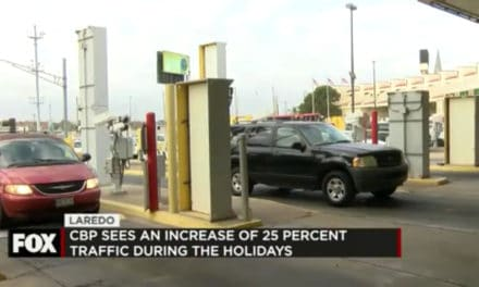 CBP Sees Increase of about 25% in Traffic During the Holidays