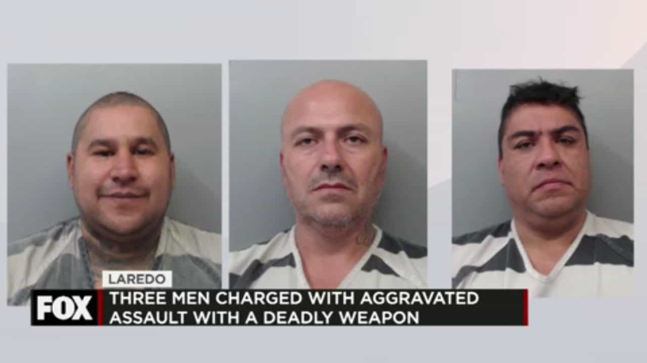 Three Charged with Assault with a Deadly Weapon 1