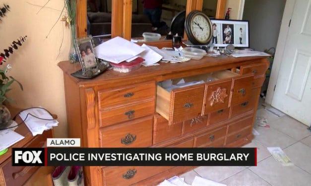 Police Investigate Home Burglary in Alamo