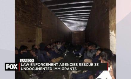 Law ENFORCEMENT Agencies Rescue 33 Undocumented Immigrants