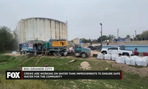 Crews are Working on Water Tank Improvements to Provide Clean Safe Water