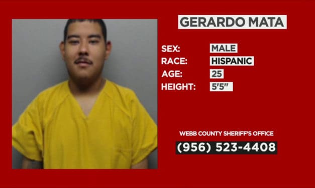 Webb county sheriff's office needs your help locating a suspect
