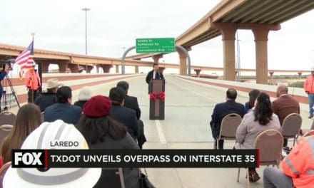 TxDOT Unveils Overpass on I35