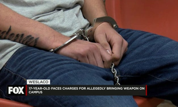 17-year-old charged After taking a weapon to school