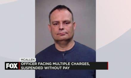 McAllen Police Officer Arrested
