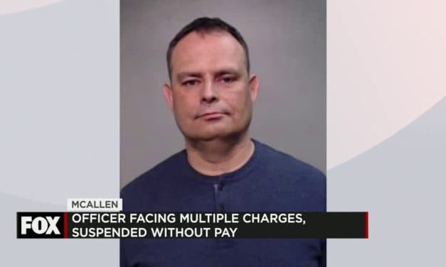 McAllen Police Officer Arrested