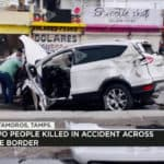 Two Dead in Matamoros Car Accident, Involved Brownsville Police Officer Recovering in Hospital