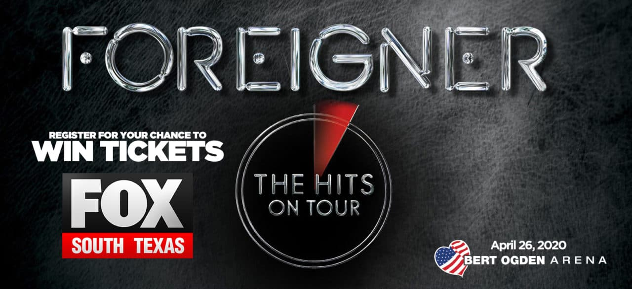 Register for your chance to win tickets to See Foreigner! 1