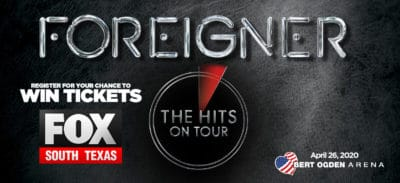 Register for your chance to win tickets to See Foreigner! 2