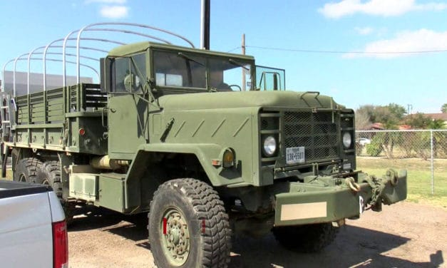 Fire Department Upgrades Army Truck Used for Rescue Services