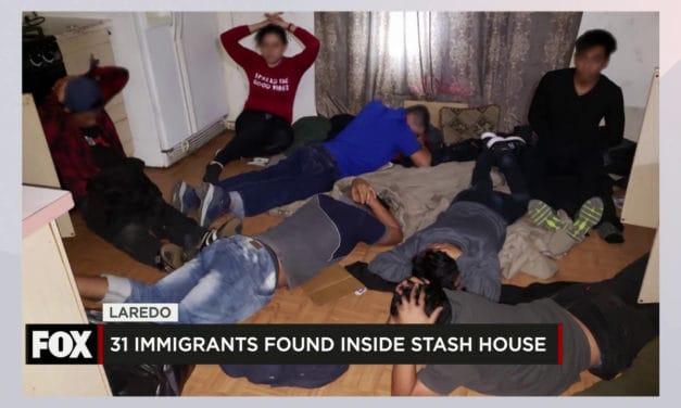 31 Found in Stash House in Laredo