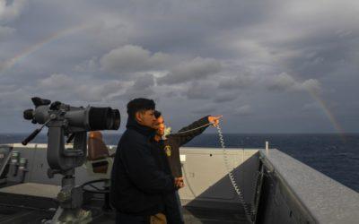 Hometown Hero: Mission Texas Sailor serves aboard U.S Navy warship deployed in PHILIPPINE Sea