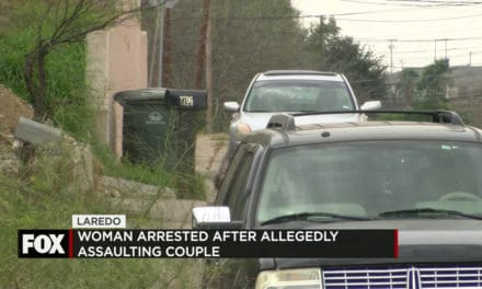 Woman Arrested after Allegedly Assaulting Couple