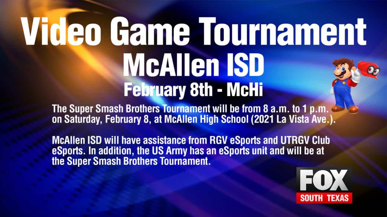 McAllen ISD set to host video-game tournament 1
