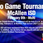 McAllen ISD set to host video-game tournament