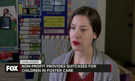 Non-Profit Provides Suitcases for Children in Foster Care