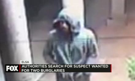 Authorities Search for Suspect Wanted for Two Burglaries