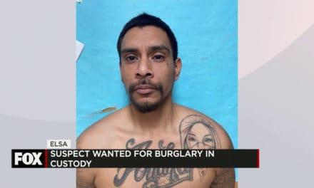 Update: Elsa Police Capture Burglary Suspect
