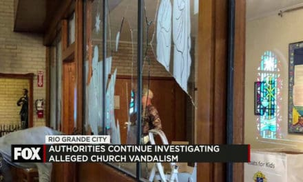 Vandals Damage Immaculate Conception Church