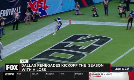 XFL Kicked off this weekend, and more in the sports report