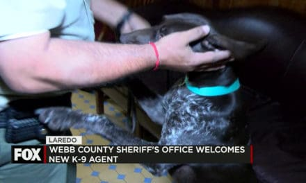 Webb County Sheriff's Office Welcomes New K-9 Agent