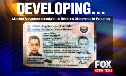 Missing Salvadoran Immigrant's Remains Discovered In Falfurrias