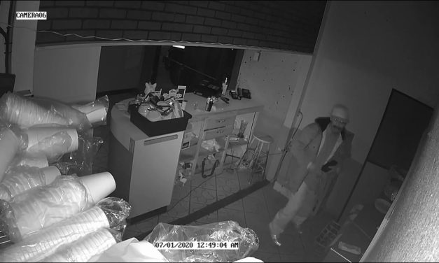 Sneaky Suspect Caught on Camera Robbing Two Mexican Restaurants