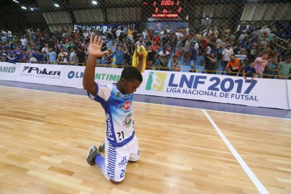 Foto  Divulgação. Foz Cataratas estreou na Liga Nacional de Futsal ... 33fc7139c65eb