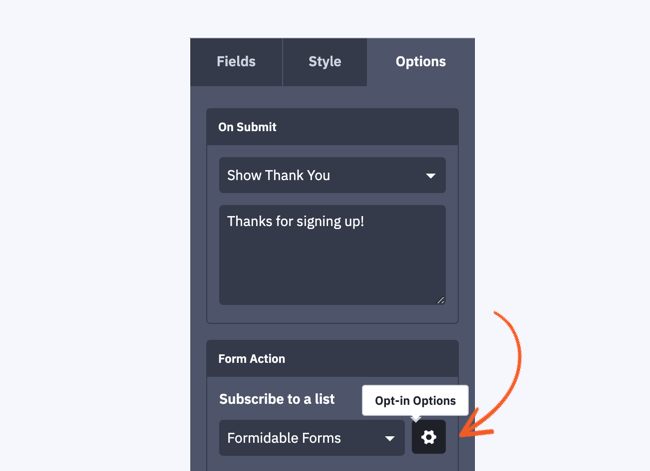 ActiveCampaign double optin form