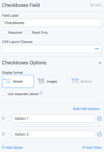 Checkboxes and Radio Buttons - Formidable Forms