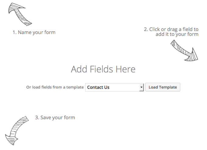 Create a Form Add Fields