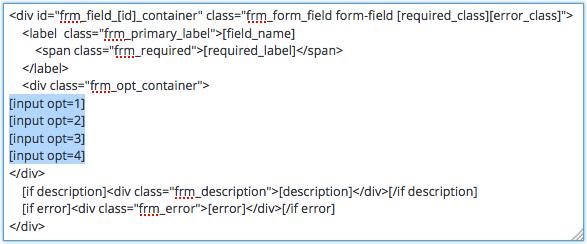 Customize HTML Input opt=x