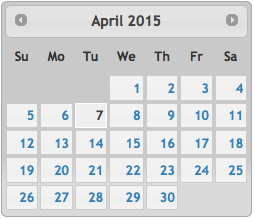 how to highlight the date date formidable forms