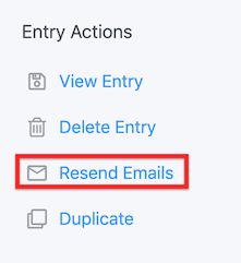 Email Routing Resend Email